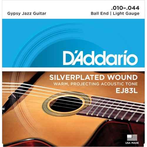 D´addario EJ83L Gypsy Jazz Ball End Light [10 44]